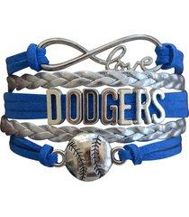 los angeles dodgers bracelet, dodgers jewelry, dodgers gift, baseball bracelet