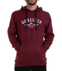 moletom quiksilver simple colour masculino