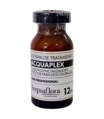 acquaflora acquaplex fluído potencializador e protetor para descoloraçáo 12ml