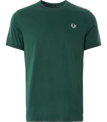 fred perry ringer t-shirt | ivy | m3519-406