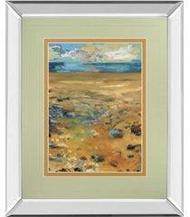 "classy art high point of summer by jennifer harwood mirror framed print wall art, 34"" x 40"""