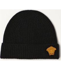 versace hat versace hat in wool and silk