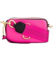marc jacobs bolsa tiracolo 'snapshot' - rosa