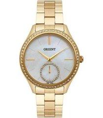 relógio feminino orient fgss0104-b1kx aço