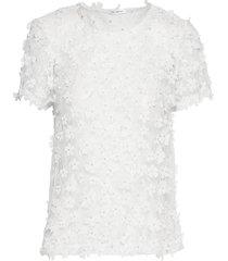 biscotti top blouses short-sleeved vit ida sjöstedt