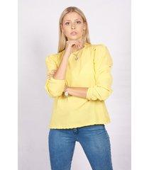 blusa amarilla skanda jacinta