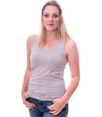 claesens women singlet grey ( cl 8018 )