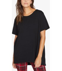 sanctuary cotton oversized t-shirt