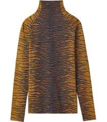 blouse met tijgerstrepen