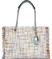 guess cessily tote bag
