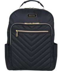 chelsea women's chevron quilted 15-inch laptop & tablet fashion travel backpack