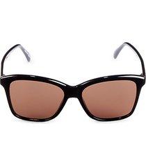 55mm square sunglasses