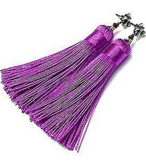 boho /purple/vol. 2 - kolczyki