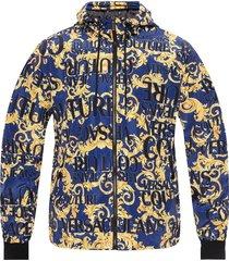 baroque motif jacket