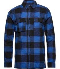 luke shirt skjorta casual blå dr. denim