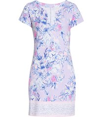 lilly pulitzer(r) sophiletta upf 50+ shift dress, size xx-large in light lilac verbena at nordstrom