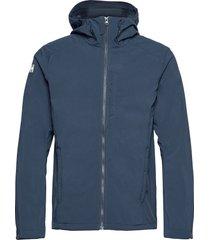 paramount hooded softshell jac outerwear sport jackets blå helly hansen
