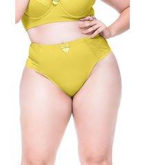 calcinha sempre sensual lingerie vintage amarelo - amarelo - feminino - dafiti