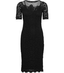 dress ss dresses lace dresses svart rosemunde