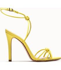 schutz sandalie eliete colore giallo