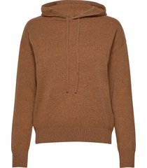 2nd feye hoodie trui bruin 2ndday