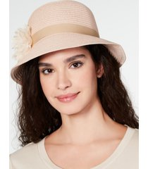 august hats lace flower cloche