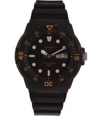 reloj negro-beige casio