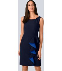 jurk alba moda marine::royal blue