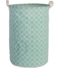 design imports polyethylene coated cotton polyester laundry ham polyethylener lattice round