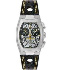 reloj  technomarine negro modelo tm-tscmh0e para hombre, colección