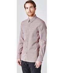 koszula z drobnym wzorem