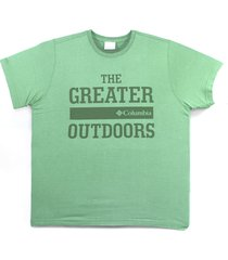 camiseta columbia the greater outdoor verde foliage 320280
