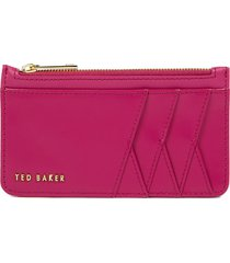 women's ted baker london leather card case - pink