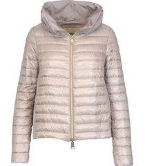 herno nylon down and taffeta jacket