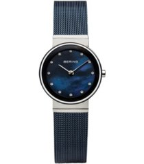 bering ladies' classic stainless mesh watch