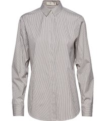 stripe boyfriend shirt overhemd met lange mouwen wit mayla stockholm