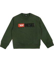 diesel screwdivision over sweatshirt