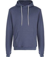 john elliott beach hoodie - blue
