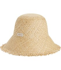 billabong x wrangler pick a straw woven hat in natural at nordstrom
