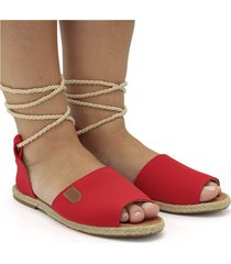 sandalia gladiadora nobuk ferrari