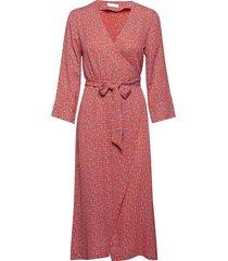 2nd francine camo jurk knielengte roze 2ndday