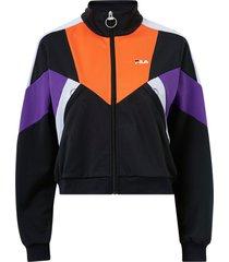 träningsjacka women becca cropped track jacket