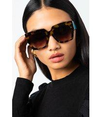 akira square abstract sunglasses