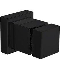 """acabamento de registro cubo black noir 3/4"""" - 4900.bl86.pq.no - deca - deca"""