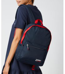 tommy jeans women's campus medium dome backpack - twilight navy