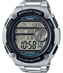 reloj deportivo kcasae 3000wd 1a casio-plateado