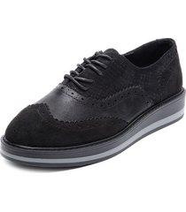 zapato oxford negro chalada