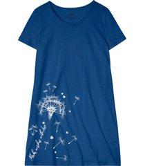 camicia da notte in cotone biologico (argento) - bpc bonprix collection