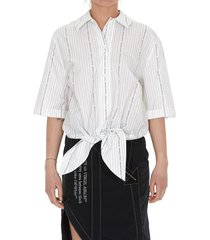 off-white baseball knot shirt
