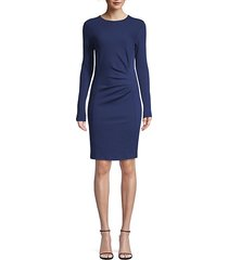 colimbo virgin wool ruched dress